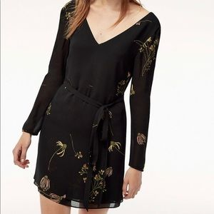Aritzia Little Moon Cordata Floral Mini Dress